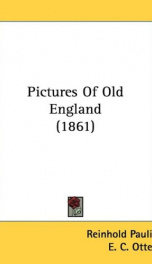 pictures of old england_cover