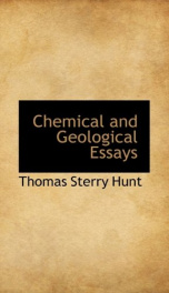 chemical and geological essays_cover