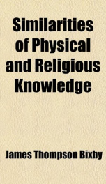 similarities of physical and religious knowledge_cover
