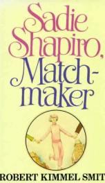sadie shapiro matchmaker_cover