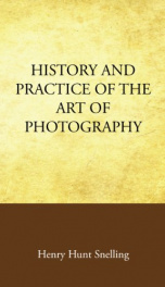 History and Practice of the Art of Photography_cover