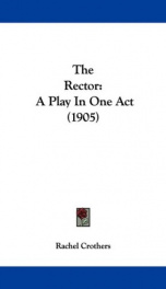 the rector a play in one act_cover