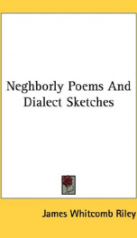 neghborly poems and dialect sketches_cover