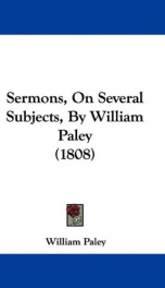 sermons on several subjects_cover