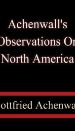Achenwall's Observations on North America_cover
