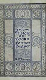 A Short History of the Book of Common Prayer_cover