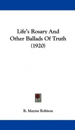 lifes rosary and other ballads of truth_cover