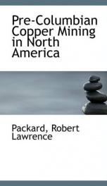 pre columbian copper mining in north america_cover
