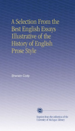 a selection from the best english essays illustrative of the history of english_cover