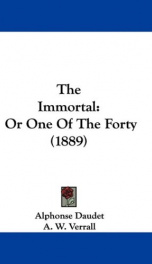 The Immortal_cover