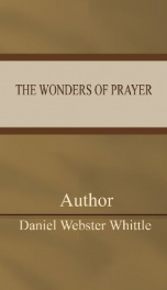 The Wonders of Prayer_cover