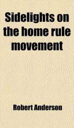 sidelights on the home rule movement_cover