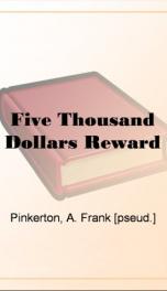 Five Thousand Dollars Reward_cover