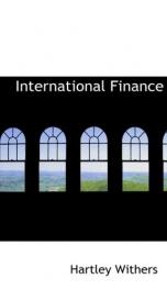 International Finance_cover