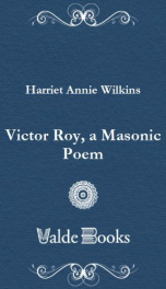 Victor Roy, a Masonic Poem_cover
