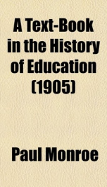 a text book in the history of education_cover