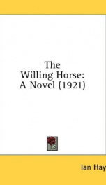 the willing horse a novel_cover