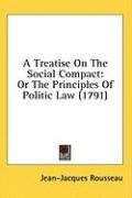 a treatise on the social compact or the principles of politic law_cover