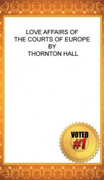 Love affairs of the Courts of Europe_cover