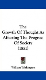 The Growth of Thought_cover
