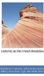 Lectures on the French Revolution_cover