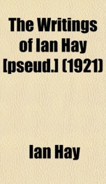 the writings of ian hay_cover
