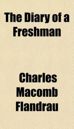 the diary of a freshman_cover
