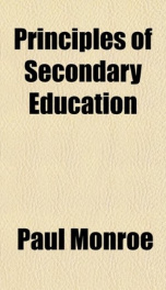 principles of secondary education_cover