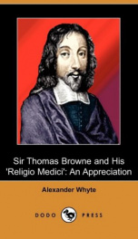 Sir Thomas Browne and his 'Religio Medici'_cover