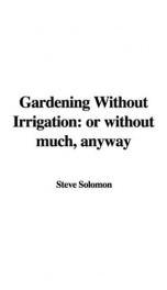 Gardening Without Irrigation: or without much, anyway_cover