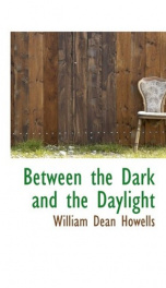 Between the Dark and the Daylight_cover