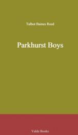 Parkhurst Boys_cover