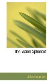 the vision splendid_cover