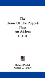 the home of the puppet play_cover