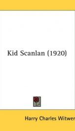 Kid Scanlan_cover