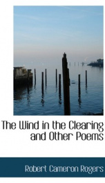 the wind in the clearing and other poems_cover