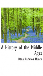 a history of the middle ages_cover