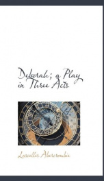 deborah a play in three acts_cover