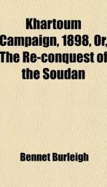Khartoum Campaign, 1898_cover