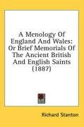 a menology of england and wales or brief memorials of the ancient british and_cover