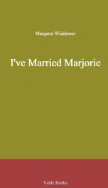 I've Married Marjorie_cover