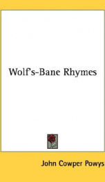 wolfs bane rhymes_cover