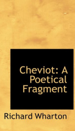 cheviot a poetical fragment_cover