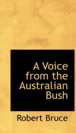 a voice from the australian bush_cover
