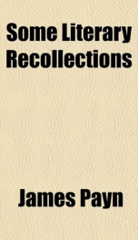 some literary recollections_cover