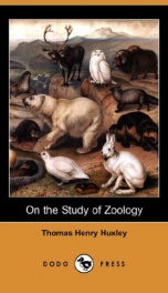 On the Study of Zoology_cover