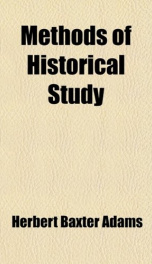methods of historical study_cover