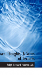 chosen thoughts a series of lectures_cover