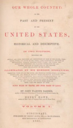our whole country or the past and present of the united states historical an_cover