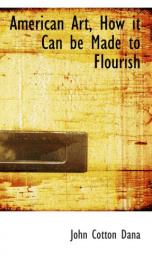 american art how it can be made to flourish_cover